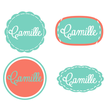 Camille, logotipo. A Design&Illustration project by Marta  Celma Nebot - 22-02-2013