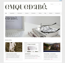 emquedabé. A Design, Software Development, Photograph, and UI / UX project by Lluís Domingo - 22-02-2013