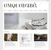 emquedabé. A Design, Software Development, Photograph, and UI / UX project by Lluís Domingo         - 22.02.2013