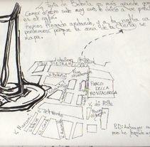 Bocetos y cuadernos de viaje. A Illustration project by Lola González - 24-02-2013