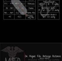 Tarjeta de Presentación. Un proyecto de Diseño y Publicidad de Izabelle Miranda         - 04.03.2013