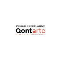 Qontarte. Logotipo y cartelería.. A Design project by Patricia García Rodríguez         - 04.03.2013