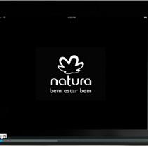 Ipad App Natura. A Advertising project by Paula  Maia Carro         - 06.03.2013