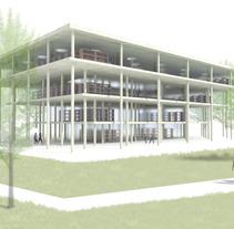 biblioteca en Córdoba. A Design, Installations, Photograph, UI / UX, 3D&IT project by Daniel Rodríguez         - 15.03.2013