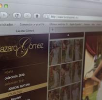 web novias. Un proyecto de Diseño y Desarrollo de software de Chary Esteve Vargas - 24-03-2013