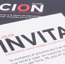 invitación. Un proyecto de Diseño de Chary Esteve Vargas - 24-03-2013