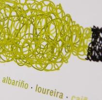 cartel Terras Gauda. Un proyecto de Diseño e Ilustración de Chary Esteve Vargas - 24-03-2013