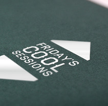 Friday Cool Sessions Logo & Poster. A Design, and Advertising project by Víctor Rodrigo Ruiz         - 07.04.2013