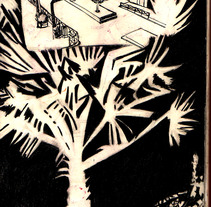 desde el café. Um projeto de Ilustração de raquel arriola caamaño         - 31.01.2010