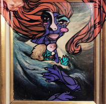 """Tienes la mirada sucia"". A Design, Illustration&Installations project by ZANART - 19-04-2013"