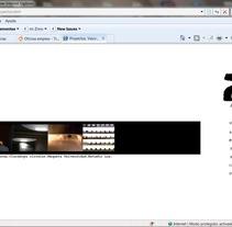 Pagina web para Arquitecto. Un proyecto de Desarrollo de software e Informática de Eva          - 26.04.2013