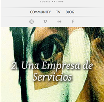 The Walrus Hub: Responsive web. A Software Development, and UI / UX project by Ezequiel Herrera Hidalgo - 25-04-2013