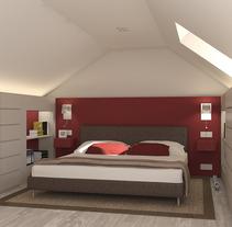 Reforma casa en Londres. Un proyecto de Diseño y 3D de Alicia Mesas Guerrero - 10-05-2013