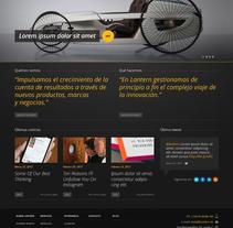 Lantern - Website. Un proyecto de Desarrollo de software de jonathan martin         - 13.05.2013