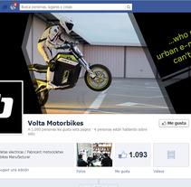 Volta Motorbikes. Un proyecto de Publicidad de Alicia Pina Valtueña         - 22.05.2013
