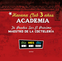 Academia Havana Club 3 Años. A Software Development project by Daniel F. R. Gordillo         - 05.06.2013