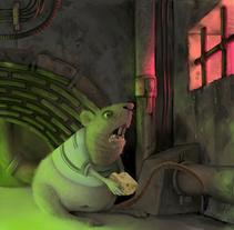 Veneno para ratas. Um projeto de Ilustração de Shiru CM         - 19.06.2013