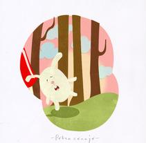Caperucita Roja. Um projeto de Ilustração de Maria Angélica Castillo Olmos         - 19.06.2013