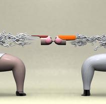 Ilustración 3D. Un proyecto de Diseño, Ilustración y 3D de Raul Real - 01-07-2013