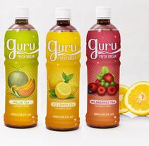 Guru Beverages. A Design project by Mara Rodríguez Rodríguez - 21-06-2013