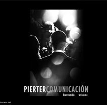 Web Pierter Comunicación. Un proyecto de Publicidad, Música, Audio, Desarrollo de software y Diseño de Carlos Cano Santos - Miércoles, 26 de junio de 2013 13:57:20 +0200