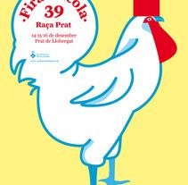 Poster Fira avícola . A Design&Illustration project by Judit Armengol         - 01.07.2013