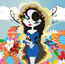 The Virgin. Un proyecto de Ilustración de Nexxxa Fernandez - Lunes, 15 de julio de 2013 20:38:43 +0200
