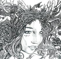 Tangle of thoughts. Un proyecto de Diseño, Ilustración, Música y Audio de Miguel Castro         - 07.08.2013