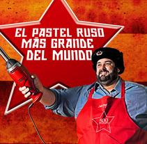 El pastel ruso más grande del mundo. Un proyecto de Publicidad, Cine, vídeo, televisión y Diseño de Unai Guerra - Sábado, 10 de agosto de 2013 13:25:05 +0200