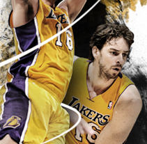 Pau Gasol. A Design, and Advertising project by Bloomdesign          - 15.08.2013