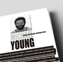 Maquetación revista. A Design project by Leyre Cerezal          - 12.09.2013