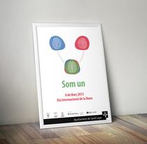 Dia Internacional de la Dona. Um projeto de Design de Nerea Gutiérrez         - 01.01.2013