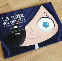 La niña del parche. Um projeto de Design e Ilustração de Marta García Pérez         - 15.09.2013