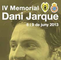 IV memorial Dani Jarque. A Design, and Advertising project by esteban hidalgo garnica         - 19.09.2013