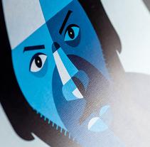Music Icons. Un proyecto de Ilustración, Música y Audio de Rubén Montero - 22-01-2015