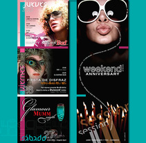 La noche te invita a la diversión. A Design project by Leda Wiesse         - 10.10.2013