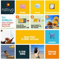 Nativo: web responsive. Un proyecto de Desarrollo de software y UI / UX de Juan Monzón - 15-10-2013
