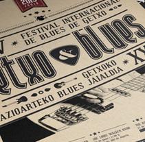 GETXO&BLUES propuesta. Um projeto de  de Ana Belén Fernández Álvaro         - 24.10.2013