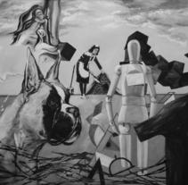 exposicion ikara gallery. A Design, Illustration, Installations, and Photograph project by enrique granados de foronda         - 28.10.2013