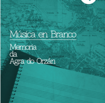 Música en Branco. Um projeto de Design, Publicidade, Música e Áudio e Fotografia de LAZO Diseño & Ilustración         - 12.11.2013