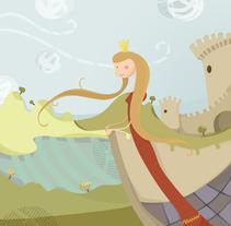 La Princesa y el Amor. Un proyecto de Ilustración de Cristina Planells del Barrio         - 12.11.2013