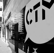 Campaña gráfica CTM. Un proyecto de Diseño, Fotografía, Cine, vídeo y televisión de Cristina Planells del Barrio         - 13.11.2013