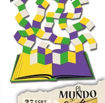Afiche en homenaje a J.Cortázar. Un proyecto de Diseño de Erica Tourís Fresco - 14-11-2013
