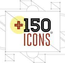 +150 ICONS. A Design&Illustration project by Mauco Sosa - 11.23.2013