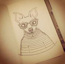 Scketchbook. A Design&Illustration project by Paula  Maia Carro         - 24.11.2013