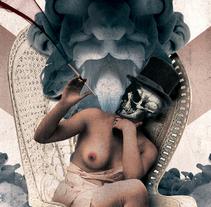 """Cabaret """"Atelier"""". Um projeto de Publicidade de Ruben Lorenzo         - 24.11.2013"""
