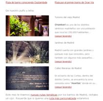 Newsletter De Manzana en Manzana. Um projeto de Design, UI / UX e Informática de Elena Sánchez Samos         - 16.10.2013