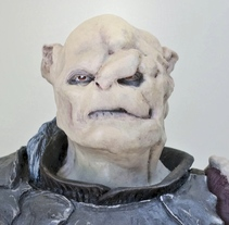 Gothmog. Escala 1/6.. A Character Design, Sculpture, To, and Design project by Manuel Barroso Parejo - 09-01-2013
