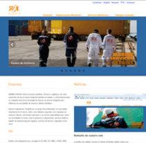 Web Rudder logistics. Um projeto de Design de Germán Vaquer Betes         - 09.04.2013