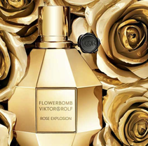 V&R Flowerbomb Gold. A Design, and 3D project by Juanjo Bernabeu - Nov 27 2013 12:00 AM
